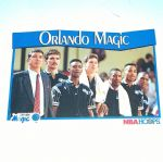 1991-92 NBA Hoops #292 Orlando Magic Team Basketball Card